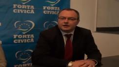 Conferință de presă susținută de filiala Iași a Partidului Forța Civică