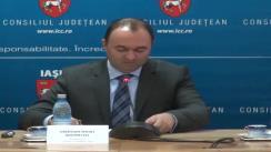 """Conferința de lansare a proiectului """"Sistemul de Management Integrat a Deșeurilor"""" în județul Iași"""
