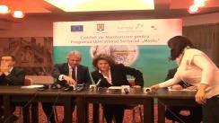 """A 13-a reuniune a Comitetului de Monitorizare pentru Programul Operațional Sectorial """"Mediu"""" la Iași"""
