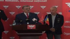 Conferință de presă susținută de președintele UNPR, Gabriel Oprea, după reuniunea zonală a Regiunii VIII București - Ilfov