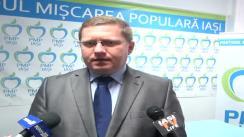Declarațiile lui Dan Constantin Mâță, președintele filialei județene a Partidului Mișcarea Populară