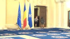 Depunerea jurământului de către noul ministru al Economiei, Andrei-Dominic Gerea