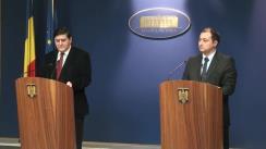 Declarațiile lui Mirel Palada și Gabriel Dumitrașcu după Ședința Guvernului României din 18 octombrie 2013