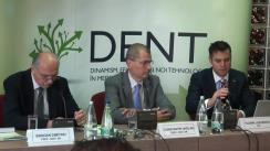 Conferință de presă susținută de Societatea de Stomatologie Estetică din România privind finalizarea proiectului DENT