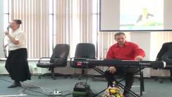 Concert de muzică terapeutică și de relaxare susținut de compozitorul și interpretul Gheorghe Iovu, prilejuit de apariția celui mai recent album - Fiii luminii