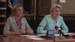 Conferință de presă susținută de Andreea Paul și Claudia Boghicevici privind rectificările bugetare
