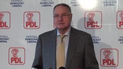 Conferință de presă susținută de liderul deputaților PDL, Mircea Toader