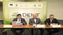 Conferință de presă susținută în Iași de către Societatea de Stomatologie Estetică din România privind finalizarea proiectului DENT
