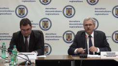 Dezbaterea publică asupra proiectului de Lege privind stabilirea unor măsuri de descentralizare a unor competențe exercitate de unele ministere
