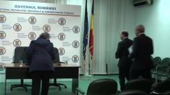Semnarea contractului de finanțare pentru gazoductul Iași - Ungheni