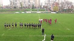 Meciul de Rugby între Steaua Bucuresti - CSM București. Semifinala a cupei României