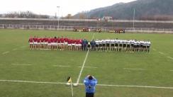 Meciul de Rugby între Știința Baia Mare - U Cluj. Semifinala a cupei României