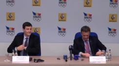 Semnarea contractului de parteneriat între Comitetul Olimpic și Sportiv Român și Renault Commercial Roumanie