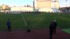Meciul de rugby-fotbal între RCM UV Timișoara si ASU Poli Timișoara