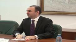 Conferință de presă susținută de președintele Consiliului Județean Iași, Cristian Adomniței
