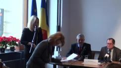 """Dezbaterea cu tema """"Politica externă a Uniunii Europene și rolul Parlamentului European în cadrul acesteia"""""""