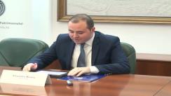 Conferință de presă susținută de Alexandru Muraru, directorul Institutului Național al Patrimoniului, la Iași