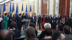 Ceremonia de premiere a elevilor care au obținut distincții la olimpiadele internaționale desfășurate în anul 2013