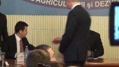 Conferință de presă susținută de Ministerul Agriculturii și Dezvoltării Rurale privind semnarea ultimelor contracte din Programul Național de Dezvoltare Rurală 2007-2013