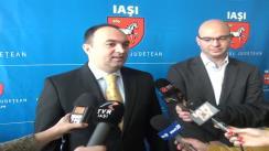 Declarațiile lui Cristian Adomniței, președintele Consiliului Județean Iași, și a lui Lorand Fabian, directorul Geiger Transilvania SA