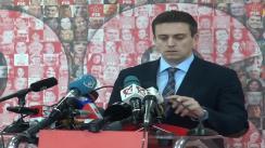 Conferință de presă după Biroul Permanent Național al PSD din 20 ianuarie 2014
