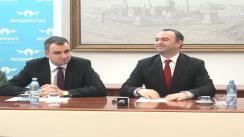 Conferință de presă susținută de Consiliul Județean Iași