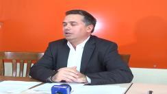 Conferință de presă susținută de deputatul PDL, Petru Movilă, la Iași