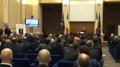 """Conferință susținută de fostul director CIA, Michael Hayden, cu tema """"Intelligence and Cyber Security"""""""