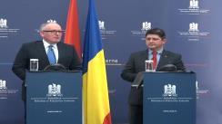 Briefing susținut de Titus Corlățean și Frans Timmermans, ministrul olandez de Externe