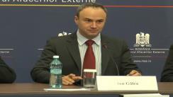 "Lansarea cărții ""Manual Diplomatic și Consular"" de Constantin I. Karadja"