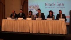 """Deschiderea conferinței """"Dezvoltarea durabilă a economiei albastre a Mării Negre. Intensificarea cooperării marine și maritime"""""""