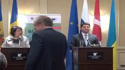 Briefing susținut de Titus Corlățean și Maria Damanaki, comisarul european pentru afaceri maritime și pescuit