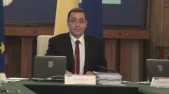 Ședința Guvernului României din 5 februarie 2014 (imagini protocolare)