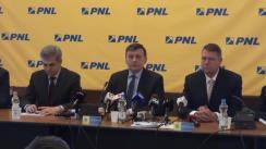 Conferință de presă după Biroul Politic Național al PNL din 7 februarie 2014