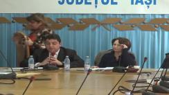 Seminar informativ susţinut de reprezentanţi ai Fondului Român de Dezvoltare Socială la Prefectura Iași