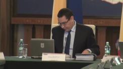 Ședința Guvernului României din 12 februarie 2014 (imagini protocolare)