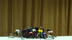 Conferință de presă susținută de boxerul român, Lucian Bute, fost campion mondial la categoria super-mijlocie (IBF)