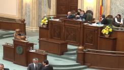 Ședința în plen a Senatului României din 18 februarie 2014
