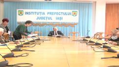 Ședința Comitetului consultativ de dialog civic pentru problemele persoanelor vârstnice la Instituția Prefectului - Județul Iași