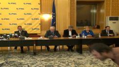 Conferință de presă după Delegația Permanentă a PNL din 25 februarie 2014