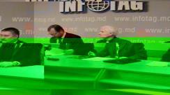 Reprezentanti ai companiei MoldATSA - Susținerea conducătorului MoldATSA, Valerian Vartic