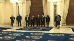 Ceremonia de depunere a jurământului de învestitură a domnului Gabriel Oprea în funcția de ministru al Afacerilor Interne