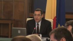 Ședința Guvernului României din 6 martie 2014 (imagini protocolare)