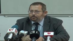 Prezentarea de către directorul INHT, Rosin Andy, a concluziilor controlului efectuat la Centrul de Transfuzii Sanguine Slatina și la Spitalul Județean de Urgență Slatina
