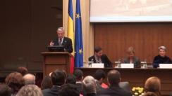 """Conferința organizată de Banca Națională a României cu tema """"Educația financiară: investiție în viitorul societății"""""""