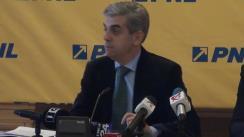 Briefing susținut de deputatul PNL, Eugen Nicolăescu