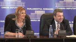 Conferință de presă susținută de deputații PDL pe tema măsurilor fiscale pentru sprijinirea mediului de afaceri