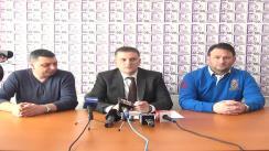 Conferință de presă susținută de organizația județeană Iași a PP-DD