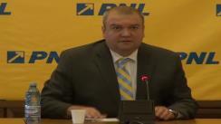 Conferință de presă susținută de deputații PNL