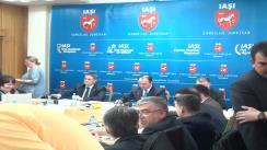 Ședința ordinară a Consiliului Județean Iași din 27 martie 2014